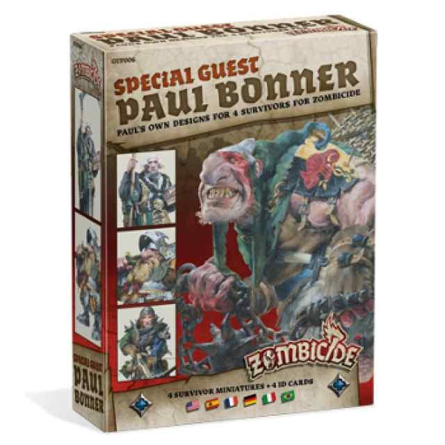 comprar Zombicide Special Guest Paul Bonner