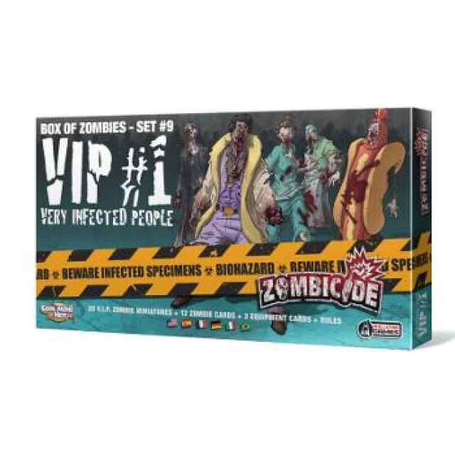 comprar Zombicide T3: VIP: Very Infected People 1