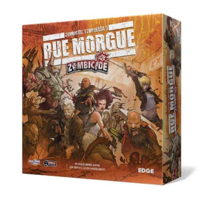 comprar Zombicide: Temporada 3: Rue Morgue