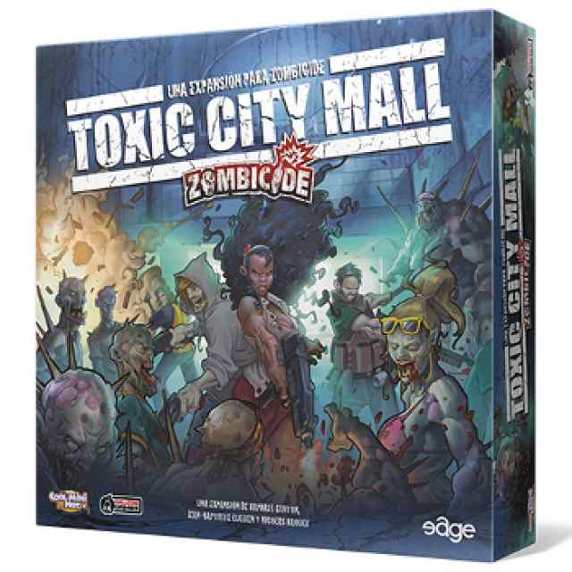 Zombicide: Toxic City Mall TABLERUM