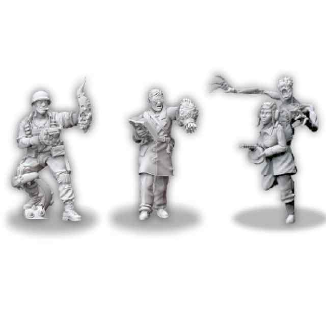 Achtung! Cthulhu: Investigadores de los aliados: Pack 1 TABLERUM