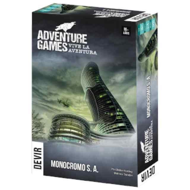 Adventure Games: Monocromo S.A TABLERUM