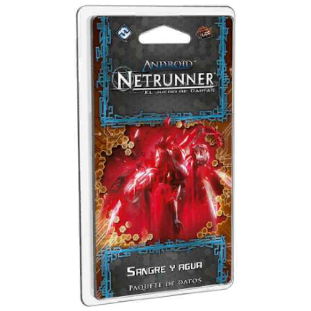 Android Netrunner: Sangre y Agua TABLERUM