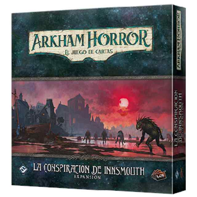 Arkham Horror (LCG): La Conspiración de Innsmouth TABLERUM