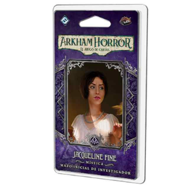 Arkham Horror (LCG): Jaqueline Fine Mazo de investigador TABLERUM