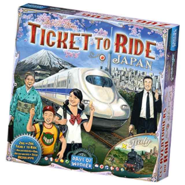 Aventureros al tren! Japón - Italia TABLERUM