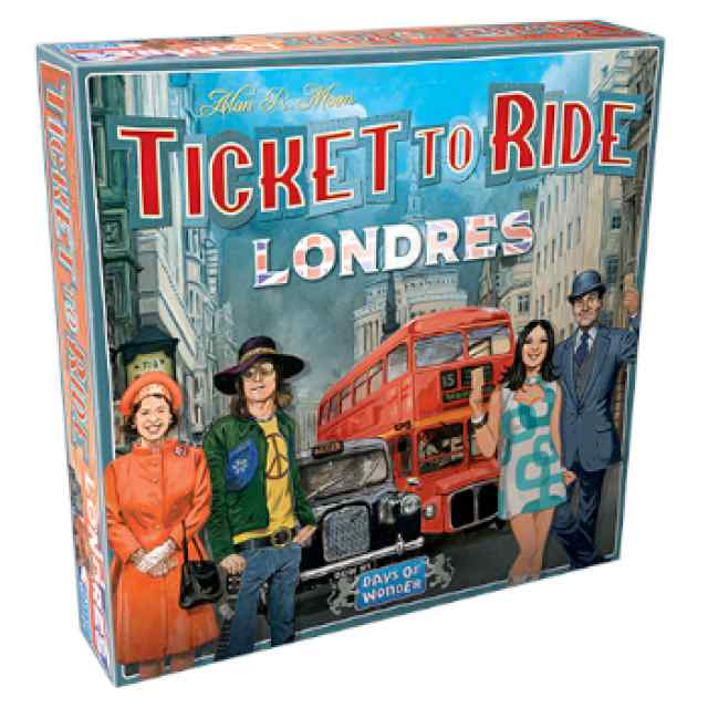 Aventureros al Tren!: Londres TABLERUM