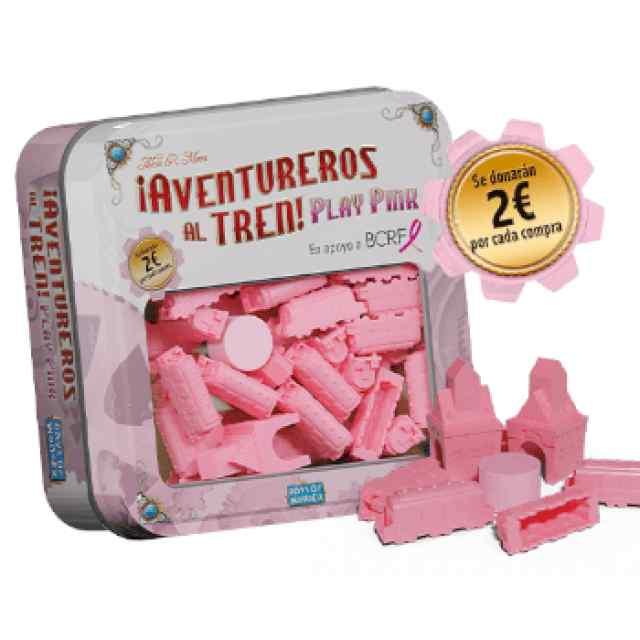Aventureros al Tren: Play Pink TABLERUM