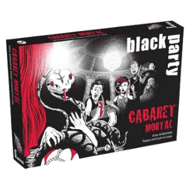 Black Stories Black Party Cabaret Mortal TABLERUM