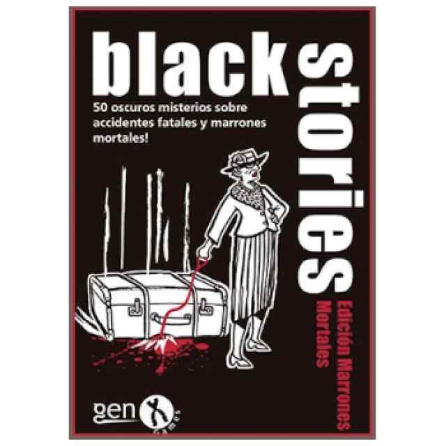 Black Stories Edición Marrones Mortales TABLERUM