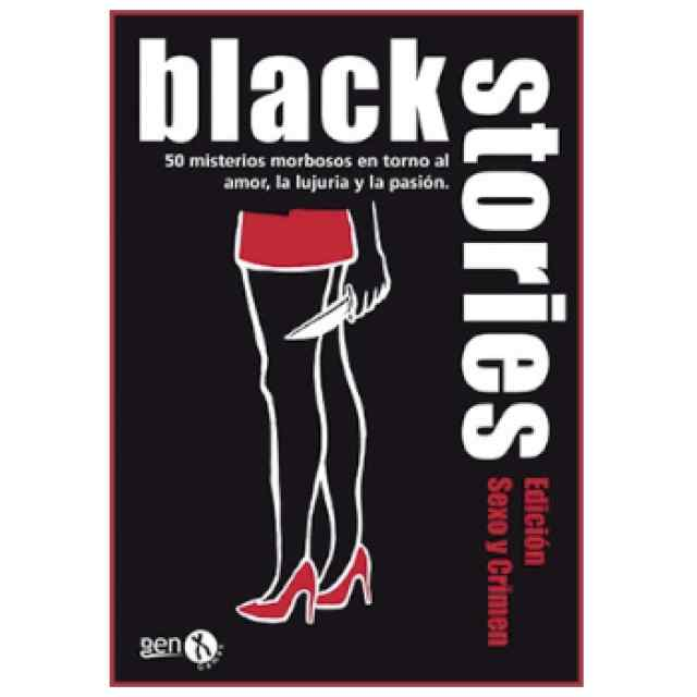 Black Stories Edición Sexo y Crímenes TABLERUM