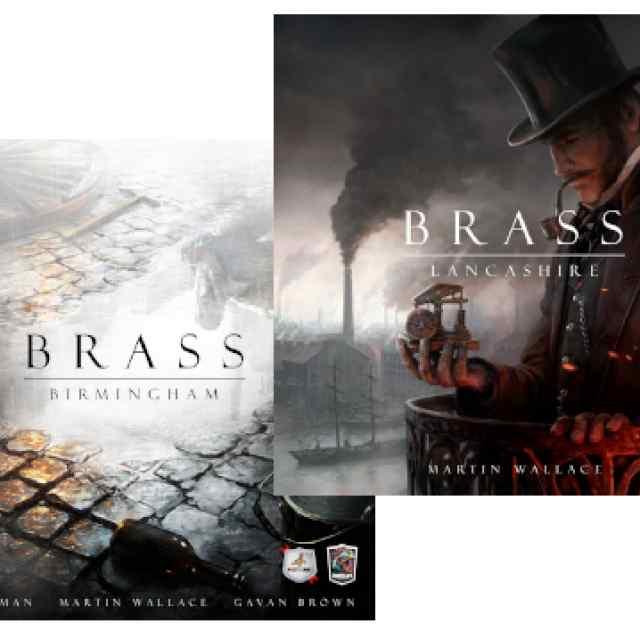 Brass: Lancashire + Birmingham TABLERUM