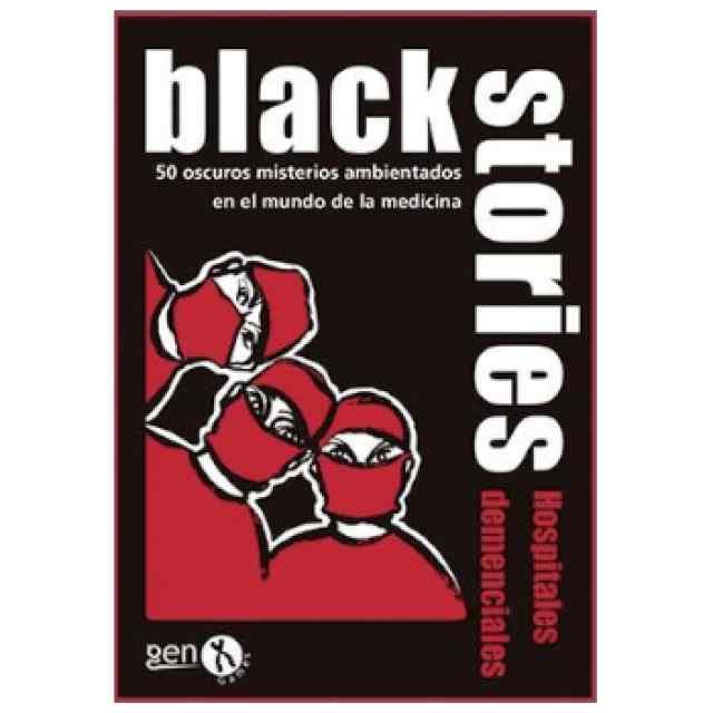 Black Stories Hospitales Demenciales TABLERUM