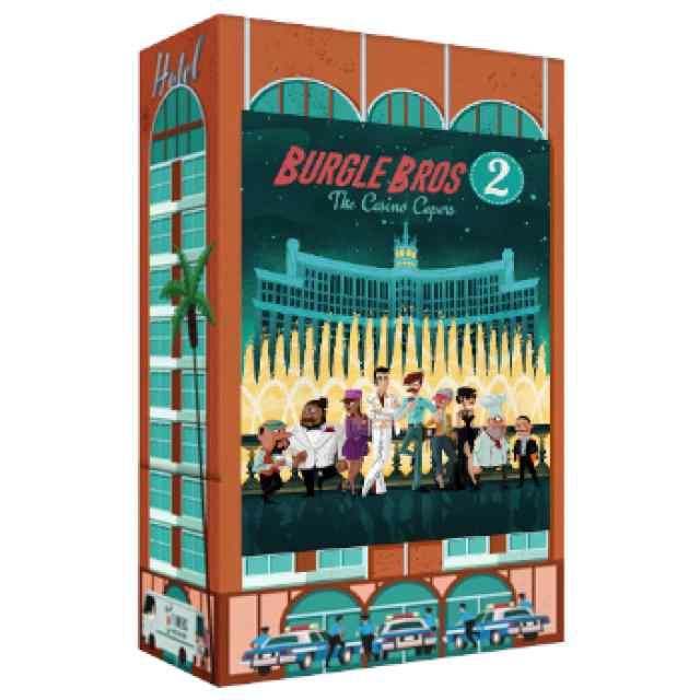 Burgle Bros 2: The Casino Capers TABLERUM