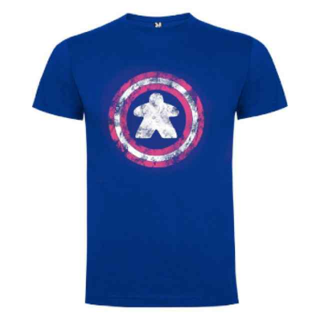 Camiseta Capitán Meeple (Hombre) TABLERUM