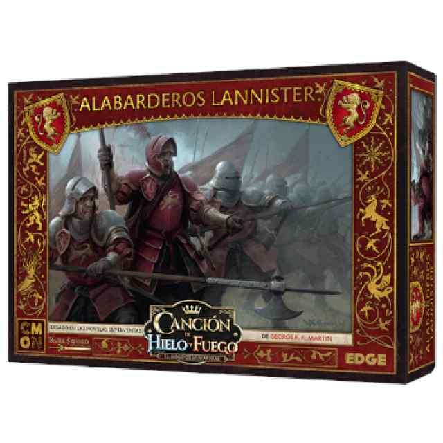 Canción de Hielo y Fuego: El Juego de Miniaturas: Alabarderos Lannister TABLERUM
