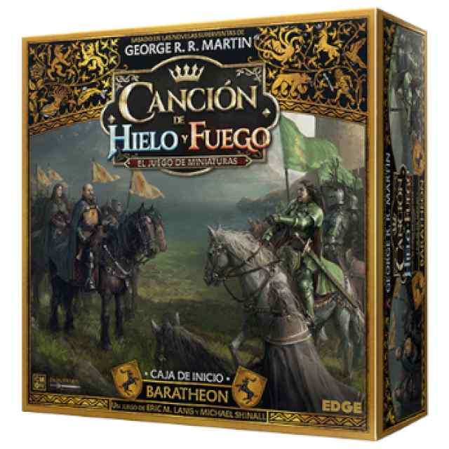 Canción de hielo y fuego el juego de miniaturas: Baratheon Caja de Inicio TABLERUM