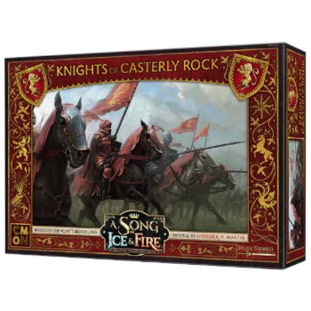 Canción de Hielo y Fuego: El Juego de Miniaturas: Caballeros de Roca Casterly TABLERUM