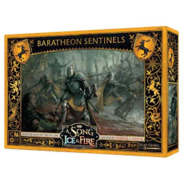 Canción de Hielo y Fuego: El Juego de Miniaturas: Centinelas Baratheon TABLERUM