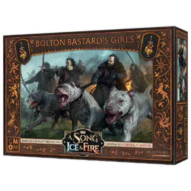 Canción de Hielo y Fuego: El Juego de Miniaturas: Las chicas del Bastardo Bolton TABLERUM