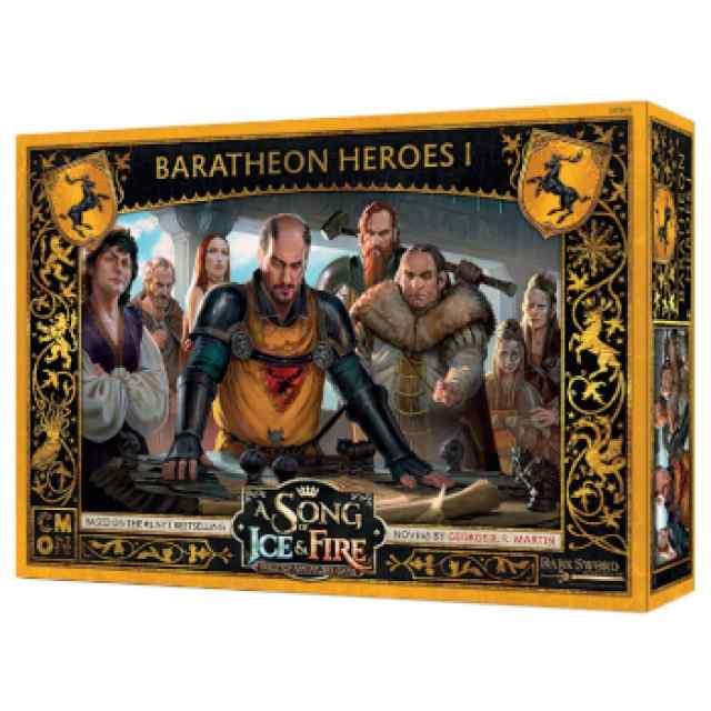 Canción de Hielo y Fuego: El Juego de Miniaturas: Héroes Baratheon I TABLERUM