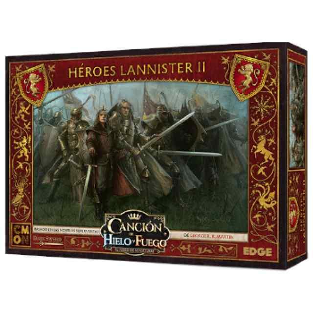 Canción de Hielo y Fuego: El Juego de Miniaturas: Héroes Lannister 2 TABLERUM