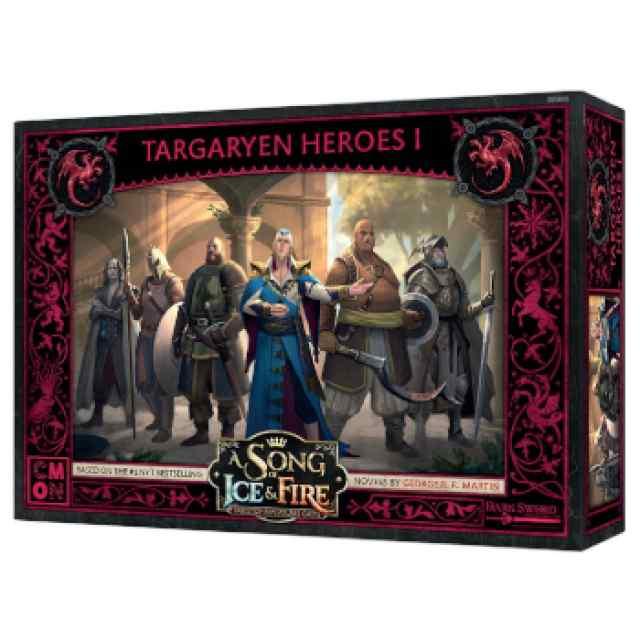 Canción de Hielo y Fuego: El Juego de Miniaturas: Héroes Targaryen I TABLERUM