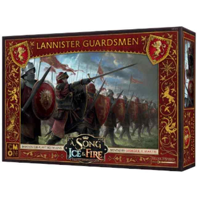 Canción de Hielo y Fuego: El Juego de Miniaturas: Guardias Lannister TABLERUM