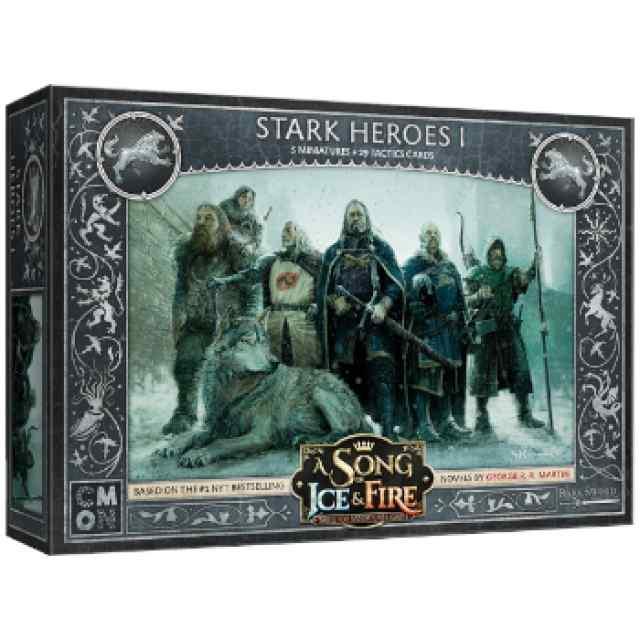 Canción de Hielo y Fuego: El Juego de Miniaturas: Héroes Stark 1 TABLERUM
