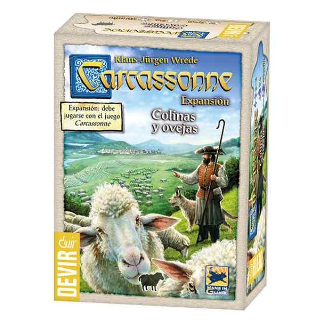 comprar Carcassonne: Colinas y Ovejas