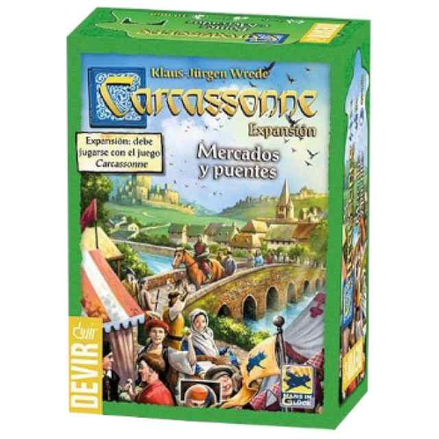 Carcassone: Mercados y Puentes TABLERUM