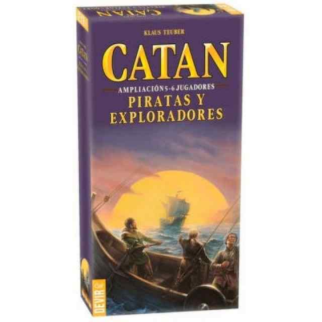 ampliación catán piratas y exploradores