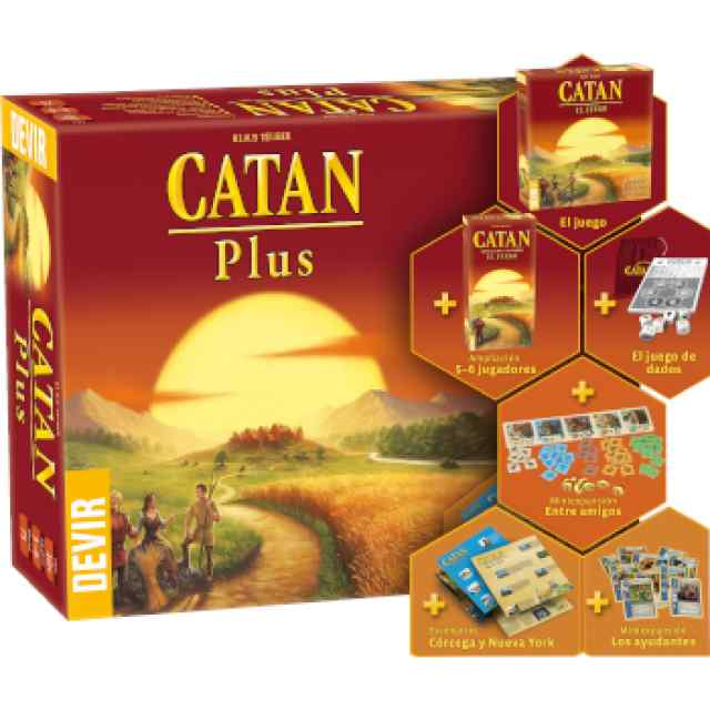 Catan Plus 2019 TABLERUM