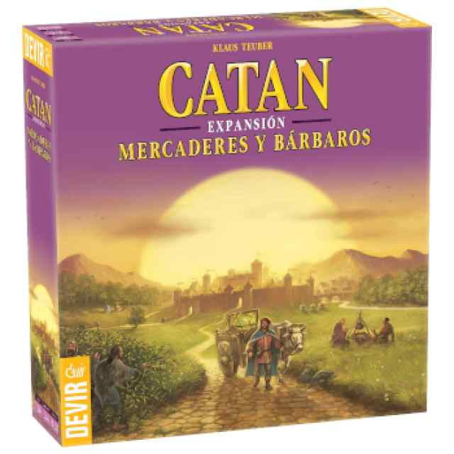 Colonos Catán Mercaderes y Bárbaros TABLERUM