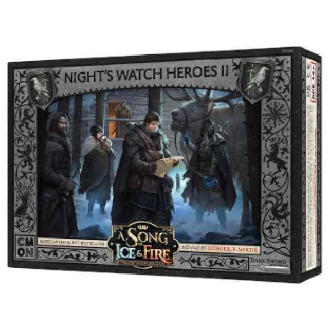 Canción de Hielo y Fuego: El Juego de Miniaturas: Héroes de la Guardia de la Noche 2 TABLERUM