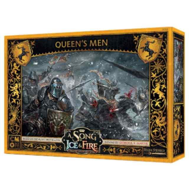 Canción de Hielo y Fuego: El Juego de Miniaturas: Los Hombres de la Reina TABLERUM