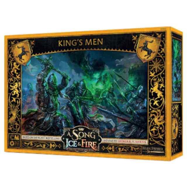 Canción de Hielo y Fuego: El Juego de Miniaturas: Los Hombres del Rey TABLERUM
