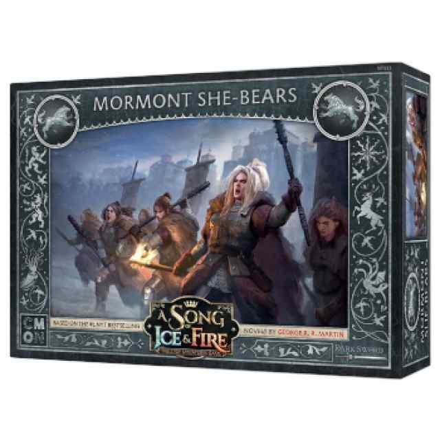 Canción de Hielo y Fuego: El Juego de Miniaturas: Osas Mormont TABLERUM