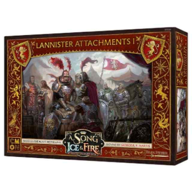 Canción de Hielo y Fuego: El Juego de Miniaturas: Vínculos Lannister TABLERUM