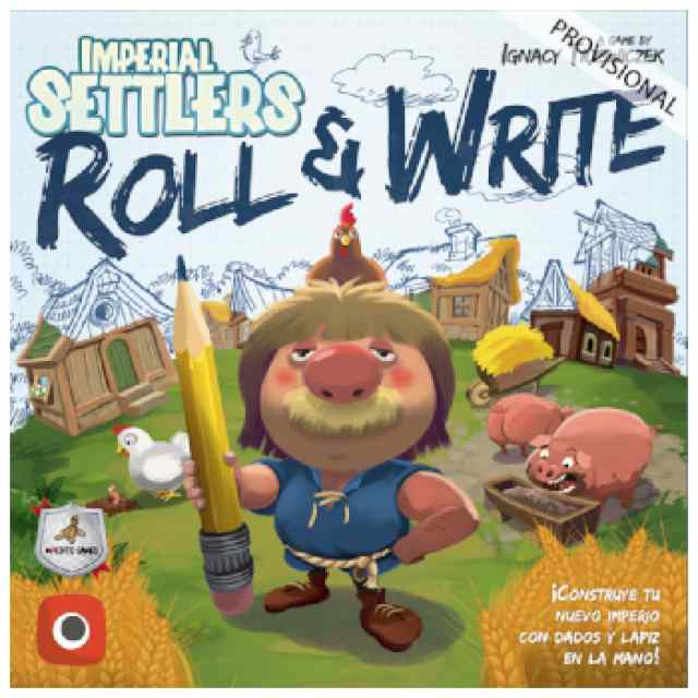 Colonos del Imperio: Roll & Write TABLERUM