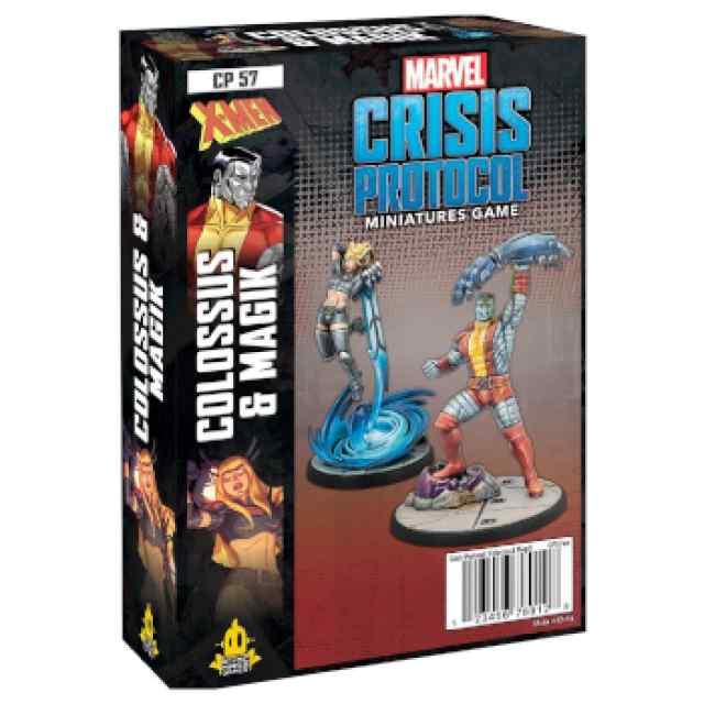 Marvel Crisis Protocol Colossus & Magik EN TABLERUM
