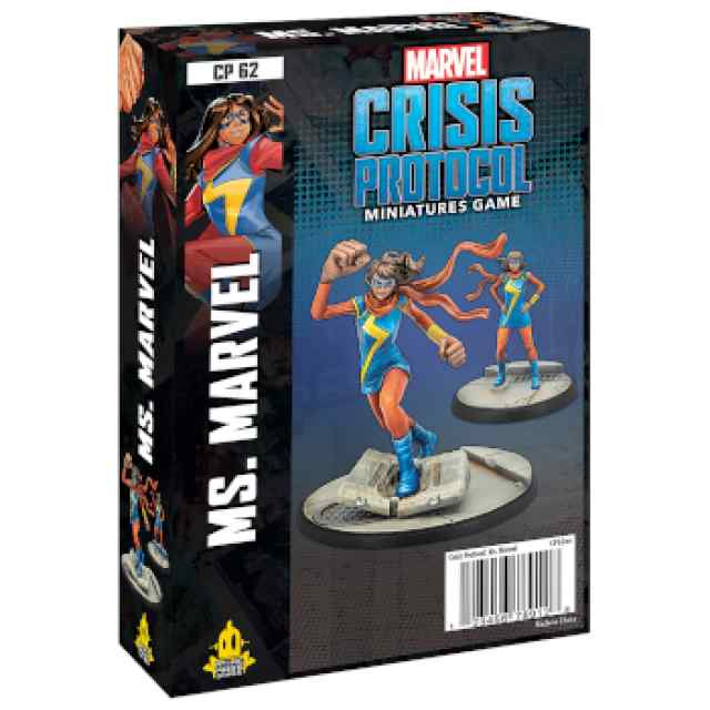 Marvel Crisis Protocol Ms. Marvel EN TABLERUM