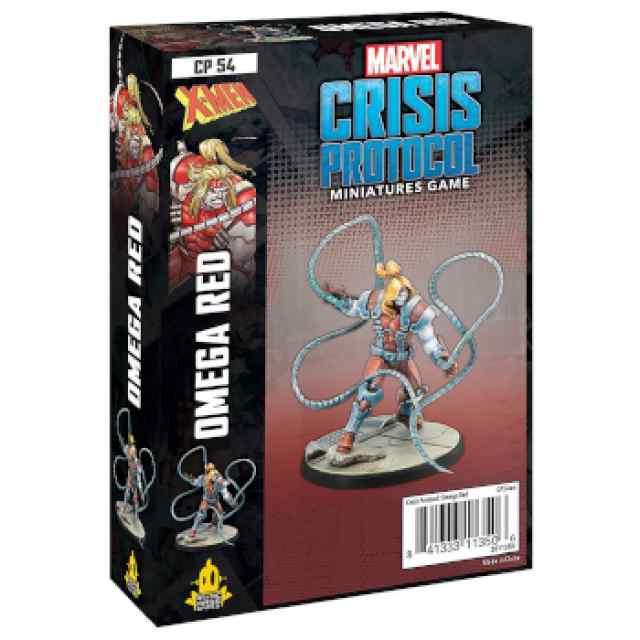 Marvel Crisis Protocol Omega Red EN TABLERUM