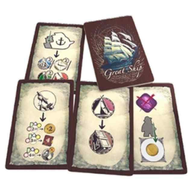 Darwin's Journey: Great Ships Mini-Expansión TABLERUM