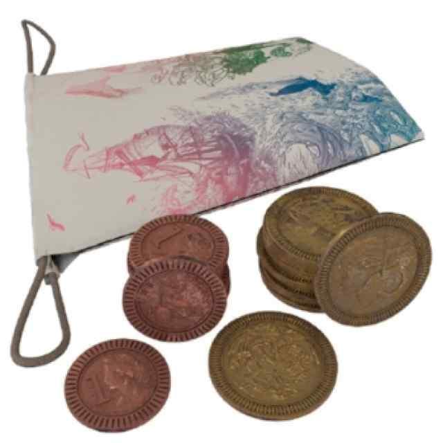 Darwin's Journey: Set De Monedas De Metal TABLERUM