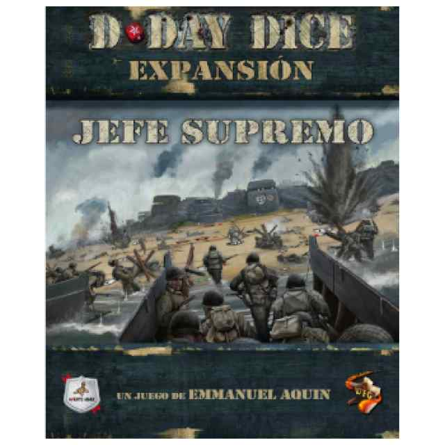 D-Day Dice: Jefe Supremo TABLERUM
