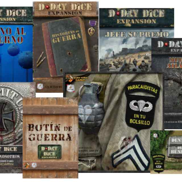 D-Day Dice Pack TABLERUM