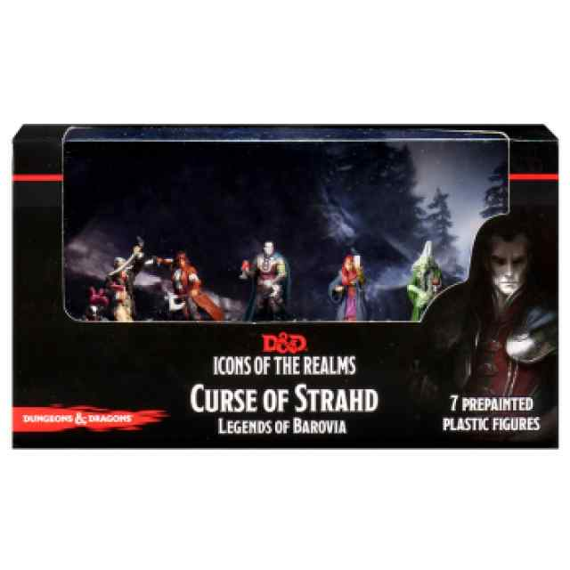 Dungeons & Dragons: Icons of the Realms: Curse of Strahd - Legends of Barovia Premium Box TABLERUM