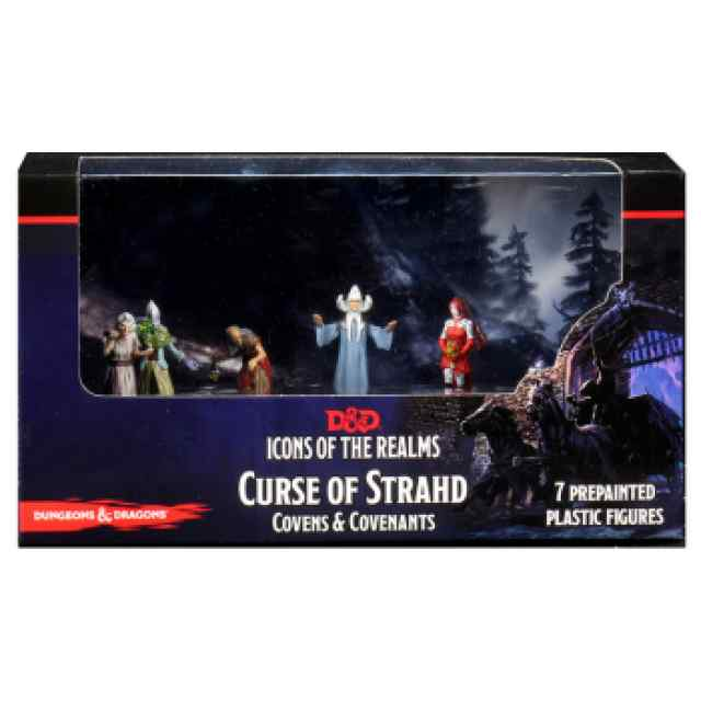 Dungeons & Dragons: Icons of the Realms: Curse of Strahd - Covens & Covenants Premium Box TABLERUM