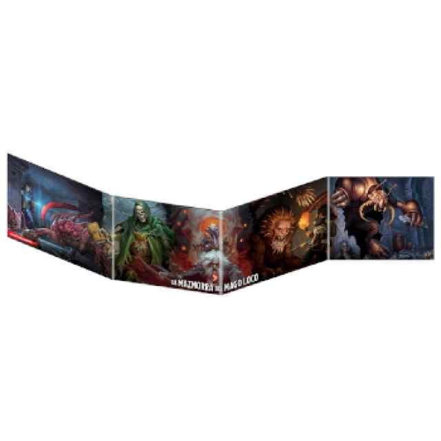 Dungeons & Dragons: Pantalla del Dungeon Master - Waterdeep: La Mazmorra del Mago Loco TABLERUM